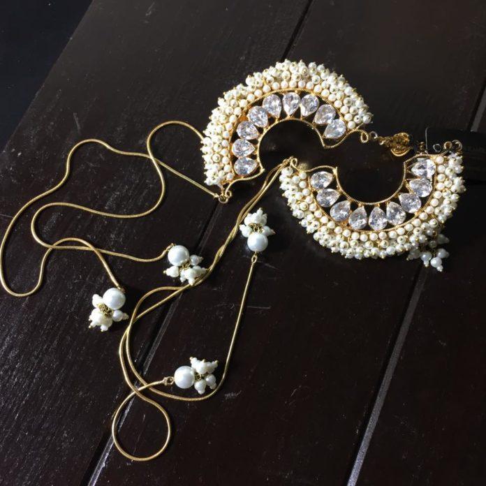Awesome Ear Earrings Zaheen Kamran Looking Style 2020