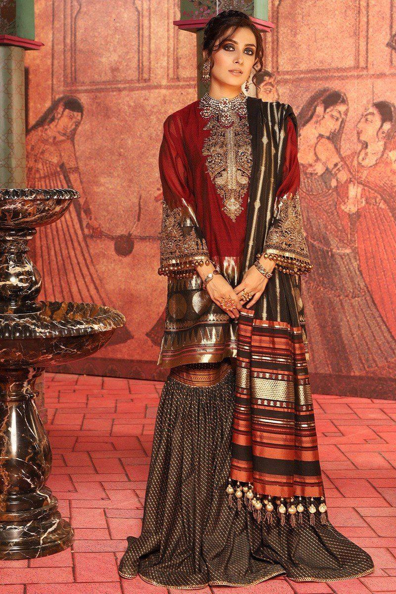 Alkaram Winter Wedding Wear Dresses for Ladies 2020