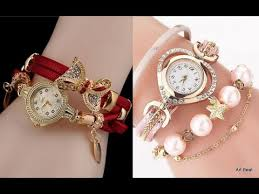 Beautifull Stylish Watch For Girls Looking Style 2020