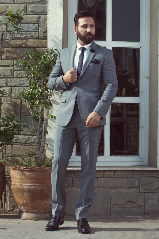 Andre Emilio Men's Wear Winter Luxury Suits Collection 2020