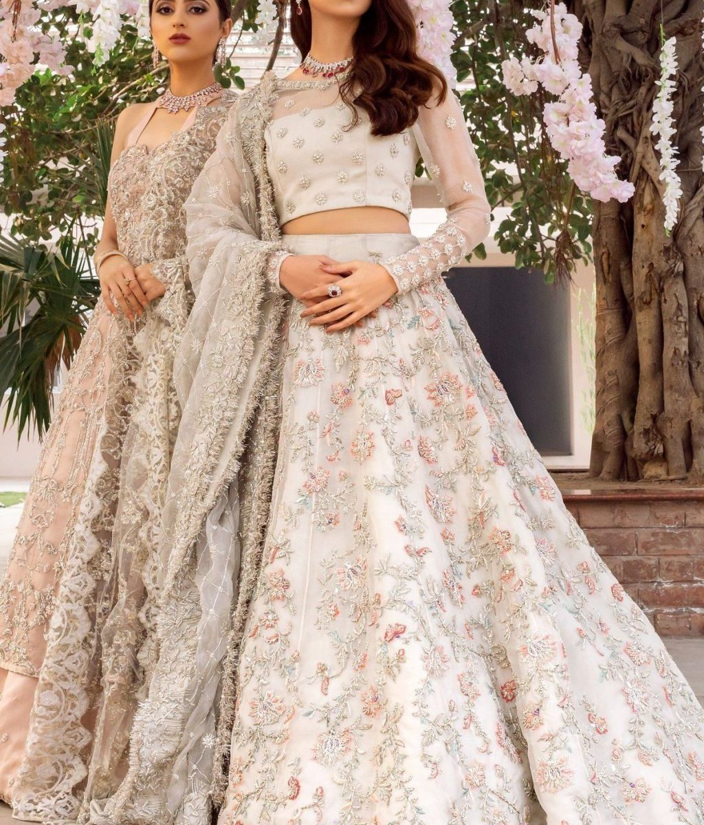 Stunning Bridel Lehenga Natural Colourfull Scheme 2020