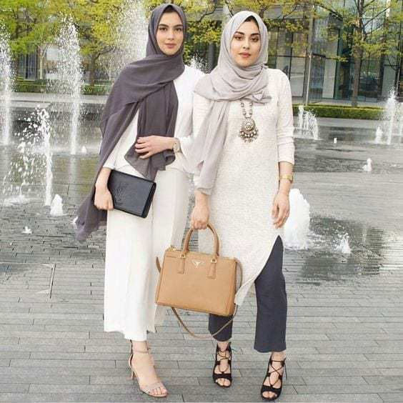 Beautifull Hijab Wear Casual Outfits For Women 2020