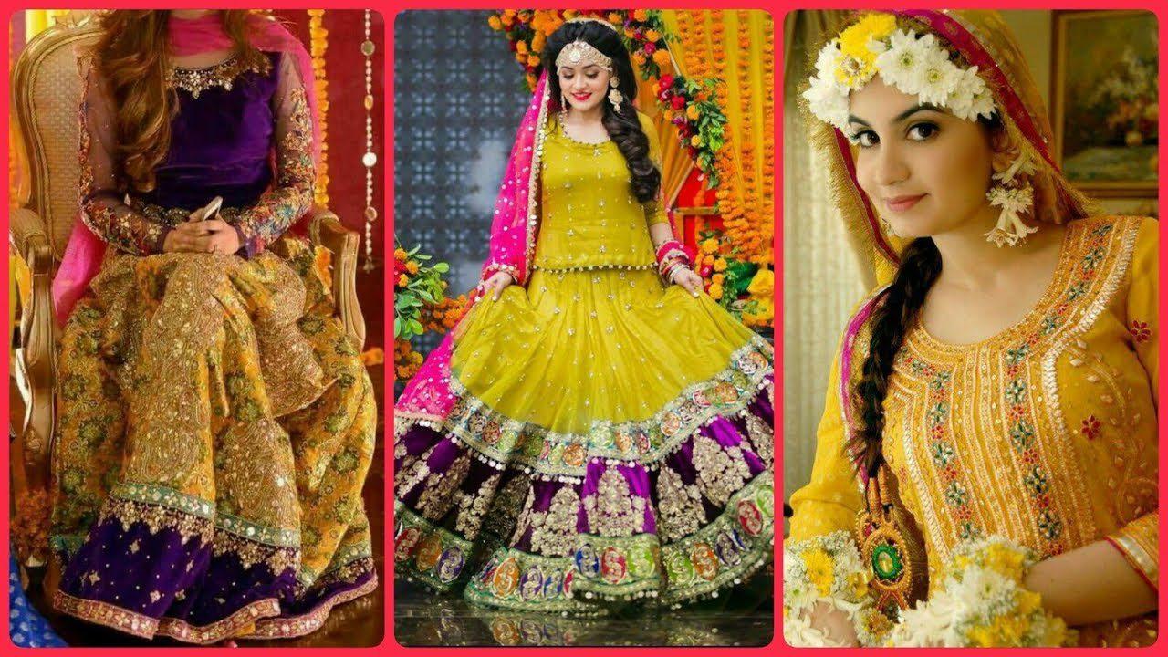 Beautifull Bridel Ubtan Dresses Looking Brides 2020