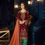 Awesome Iznik Formal Winter Girls Wear Suit 2020