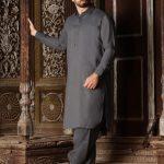 Wasim Akram Men's Wear Kameez Shalwar Looking 2020-2021
