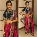 Awesome traditional Saree Womens Look 2021