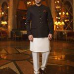 Junaid Jamshed Mens Fashion Royal Prince Look Coat 2021