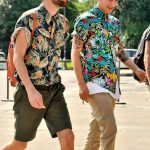 Mens Fashion Floral Shirt Outfits Look Wear 2021
