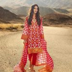 Gul Ahmed Lawn RoseLene Ideas Dresses For Valentine's Day