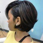 Latest Bob Haircuts Fashion 2021 for Black Hair Women