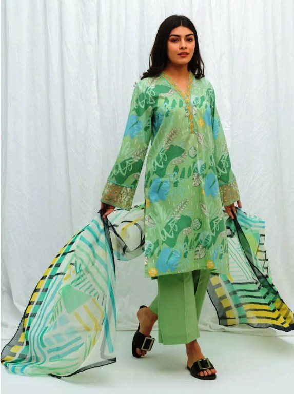 Collage Fashion Beechtree Lawn Eid's Unstitch Vol-2